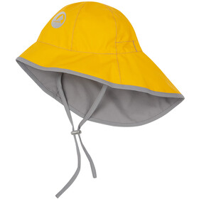 Finkid Tihku Hat Kids yellow/storm